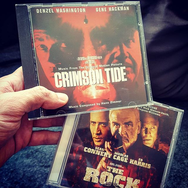 Two of my favourite film scores. These movies are still awesome and even better than many of today's movies.