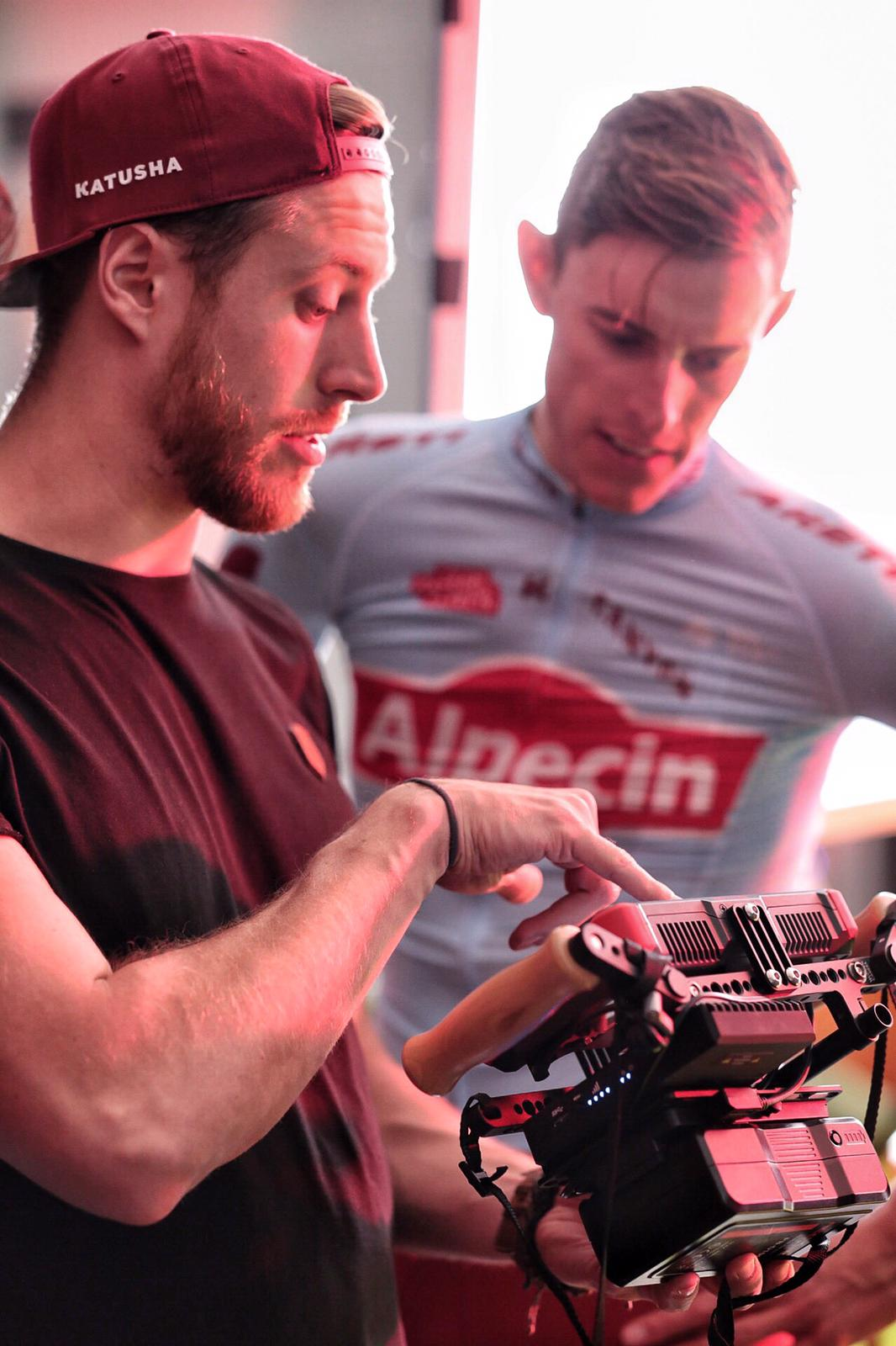New shots for our Alpecin TV commercial