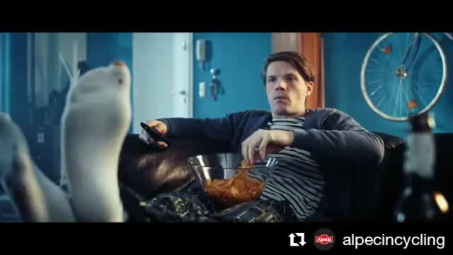 New Alpecin commercial starring Rick Zabel. Directed by me 酪